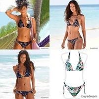 Hottest Swimwear Swimsuit Sexy 2020 New Push Up Bikini Set Bathing Suit Women Print Floral Beach Wear Bandage Summer Bather