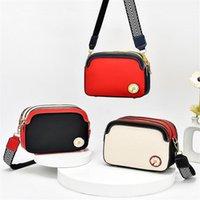 2021 Novas bolsas de luxo Mulheres Daisy Flores Saco de Ombro Mulheres Espaço de Três Nível Crossbody Bags Grande Capacidade Saco Quadrado Pequeno