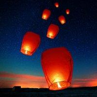 10-30 stücke Chinesischer Papier Himmel, der das Wunsch Anterns-FY-Candis-Ampere wünscht, Weihnachten-Party-Hochzeits-Festiva-Dekoration
