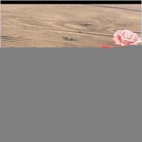 2 pcs / conjunto de rosas de cerâmica Forma de flores para maçanetas de porta de porta de mobiliário Botões de armários e gavetas do armário Puxador de puxar (aleatório lhlt wb0tk