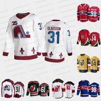 2021 Projekt Hokej Jersey Colorado Lavalanche Oskar Olausson New Jersey Devils Chase Hean Vegas Golden Knights Zach Dean Montreal Canadiens Logan Mailloux