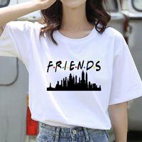 Women's T-Shirt TV Series Friend TShirt Tops Femme Clothes Female Printed Women 2021 Fashion Short Sleeve Tees Ladies