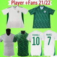 لاعب نسخة مشجعي 2021 2022 الجزائر لكرة القدم جيرسي أرجيليا 21 22 محميه أتال فغولي سليماني الإبراهيمي
