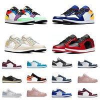 2021 Low 1 1s Shoes Men Women Tie Dye OG Bio Hack LIGHTBULB ...