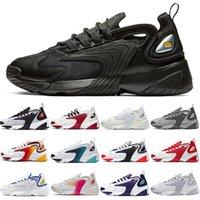 Uomo donna scarpe da corsa m2k tekno zoom triplo nero jogging chaussures all'aperto mens da donna allenatori sneakers sportivi EUR 36-45