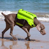 Dog Apparel Life Jacket Clothes Ropa Perro De Para Costume Harness Pet Arnes Vest Chaleco Salvavidas Zwemvest Hond Swimming Big Buoyant