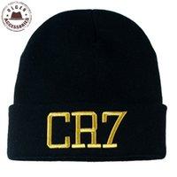 Ulgen Cristiano Ronaldo CR7 Hiphop Beanies Şapka Unisex Örgü Şapka Hayranları Kapaklar