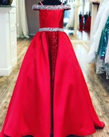 Little-Miss Pageant Dress for Teens Juniors Toddlers 2021 Royal-Blue Lace Beading AB Stones Crystal Long Prom Gown Kids Formal Party Satin Skirt rosie