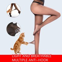 Socks & Hosiery Women Sexy Thin Tights Super Elastic Magical Pantyhose Flexible Breakable Stockings Translucent Invisible Skinny Legs#