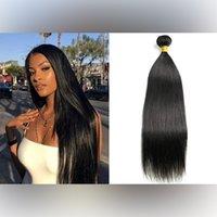 100% extensões brasileiras de cabelo não processado cabelo virgem humana tece indiano malaio peruano 3 pcs duplo trama corporal onda pacotes