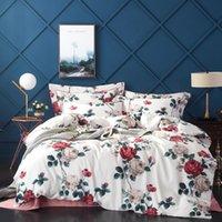 Bedding Sets Egyptian Cotton Queen King Size Set Soft Bedclothes Luxury Duvet Quilt Cover Bed Linen Sheet 4 Pieces