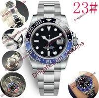 20 montre de qualité 40mm Batman Petits pointeurs ajustés séparément 2813 Montres automatiques d'en acier inoxydable.Montre de luxe imperméable