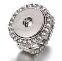 Bague élastique gingembre gingembre bijoux bijoux bricolage chunk bouton bouton bouton pour style libre PS1640