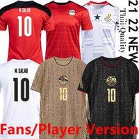 2021 Egito M.Salah # 10 Sul de Futebol Jerseys Vende Version Versão África National Football Team Gana Away Terceiro Homens Camisas Thai