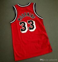 Billig benutzerdefinierte Retro # 33 Trauer Basketball Jersey Herren genäht rot Jede Größe 2xs-3XL 4XL 5XL Name oder Nummer Top Qualität Hemden