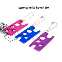 Essential Oil Bottle Opener With Keychain Tool Remover For Roller Balls Roll On Bottle Opener Card Skin Care Tools Factory Wholesale LX4112