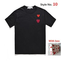 Hohe Qualität Frauen T-shirt cool gedruckt Männer T Shir kurze Ärmel Tops T-Shirts Kleidung atmungsaktive und schweißabsorbierende beschriftete Kiste