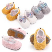 Winter Baby Shoes First Walkers Kids Girs Soft Soled Crib Footwear Cute Newborn Infant Sneakers