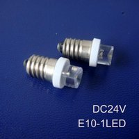 Bulbs High Quality 24V E10 Led Instrument Lights,24v Bulb,E10 Indicating Lamp,led Lamp 500pcs lot