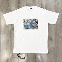 2021 Yeni KITH TOKYO SHIBUYA T-shirt Erkek Kadın 1: 1 Yüksek Kaliteli Sokak Görünümü Baskı Gömlek Tee Büyük Boy T Gömlek Utss Tops
