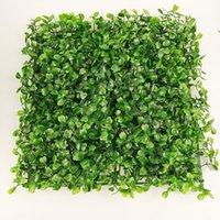 """10 """"شكل مربع التشفير الاصطناعي البلاستيك العشب حصيرة محاكاة النبات وهمية العشب 25 × 25 سنتيمتر العشب للمنزل حديقة ديكورات"""