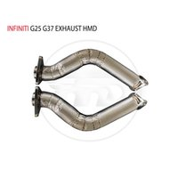 Manifold & Parts HMD Exhaust Downpipe For Infiniti FX35 Q50 G25 G37 Car Accessories With Catalytic Converter Header Intake Manifolds