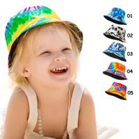 Ins Baby Sun Hat Helmet Flower Watermelon Fruit Printed Sunh...