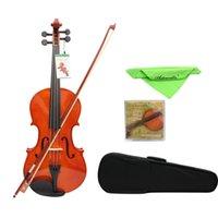 4/4 Full Size Solid Maple Viola van 16 inch met Case Bow Bridge Strings Stringed Instruments Viool Accessoires