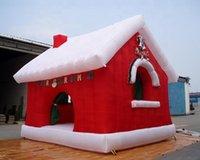 جودة عالية عيد الميلاد نفخ غربة سانتا / منزل عيد الميلاد / عطلة المقصورة خيمة للديكور في الهواء الطلق
