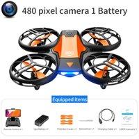 V8 NUEVO MINI DRONE DRONE 4K PROFESIONES Cámara de gran angular HD 1080P WIFI FPV DRONE Cámara Altura Manténgase Drones Cámara Helicóptero Juguetes