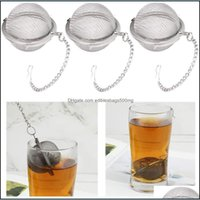 Coffee Tools Drinkware Kitchen, Dining Bar Home & Gardenstainless Steel Pot Sphere Locking Spice Ball Mesh Infuser Tea Strainer Filter Infus