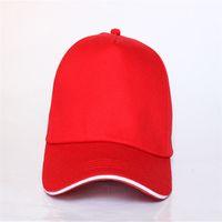 HATS Бесплатная Доставка Хип-Хоп 20 Цветов Классический Цвет Casquette de Бейсбол Поддоны Шляпы Мода Хип-хоп Спортивные колпачки Дешевые мужские и женские