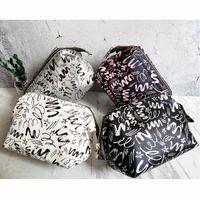 الإبداعية بو المكياج حقيبة الأزياء والأزياء التجارية السياحة المنزلية والضروريات اليومية المحمولة مستحضرات التجميل حقيبة تخزين B6KE #