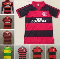 Vintage Jersey1978 1979 1982 1988 1990 1995 1996 2008 2009 Retro CR Flamengo Futbol Forması Romario Vintage Flamengo Yetişkin Futbol Gömlek