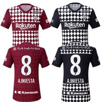 2021/22 Vissel Soccer Jerseys J1 League # 8 A.iniesta Ogawa Douglas Uniforme de futebol 2022 # 16 Furuhashi Kyogo Home Away Terceira Camisa de Futebol