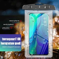 Universal Waterproof Phone Case Water Proof Bag Mobile Pouch PV Cover For I 11 Pro Xs Max Xr 8 7 S9 Swim