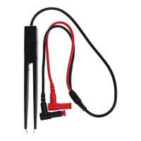 Multimetri -SMD Test di chip clip misuratore di clip conduttore multimetro Tweezer resistenze del condensatore