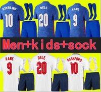 Tayland Oyuncu Sürümü Futbol Forması 2021 Kane Sterling Rashford Lingard VARDY 20 21 Ulusal Futbol Gömlek Erkekler + Çocuk Kiti Setleri Üniforma