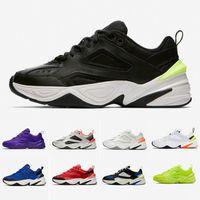 Top Calidad Black Volt Monarch M2K Tekno Moda Papá Zapatos Monarch 4 Diseñador Zapatillas Zapatillas Running Zapatillas Para Hombre Para Mujer Sneakers des Unisex