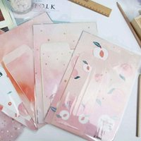Gift Wrap 1 Set Peach Paper Envelope Letter Confession Stationery Wedding Invitation Love Writing Office School Supplies