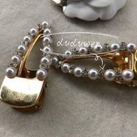 6x2cm regalo di partito di modo di modo di pietre perle clip per capelli per metallo classico 2c boutique boutique pin collezione accessori per capelli classici signora per feste