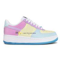 (Освобожденная почта) 1 07 LX UV реактивная обесцвечивание тепла чувствительность туфли с низким содержанием SB женщин мужская обувь кроссовки спорт DA8301 100