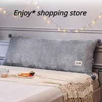 Pillow Large Soft Home Long Elastic Back Cushion Multi-function Backrest Luxury Decoration For Headboard Bed Sofa Tatami