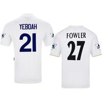 Leeds United Retro 00/02 95/96 Fowler Keane Bowyer Viduka Yeboah Jerseys de fútbol Jerseys de vintage camisa clásica