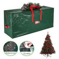Waterproof Christmas Tree Storage Bag Xmas Trees Dustproof Cover Protect Furniture Quilt Clothes Book Warehouse Storage Bags