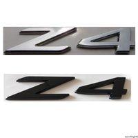 Chrome Black Letters Word Z 4 Auto Tronco Numero Badge Emblem BMW E89 E86 E85 Z4 Emblems Sticker