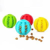 Kennels Kalemler Köpek Oyuncak Topları IQ Tedavi Gıda Dağıtım Zor Topu Diş Temizleme Kauçuk Eğlenceli Pet Küçük Orta Için Yapboz
