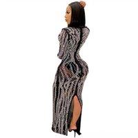カジュアルなドレスセマーレディースストラップボーレディースドレスマキシ女性ノースリーブ背中のレディースドレスVネックロングレディードレス花帽子パーティー
