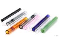 Yeni Stil Ücretsiz Kargo Ucuz Sigara Aksesuarları Temizle Cam Boru Sigara Tüp Boru Sigara Borusu Tütün Herb BWB5341 Için