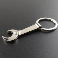 200 шт. Серебряный металлический гаечный ключ гаечный ключ пивная бутылка открывающая цепь брелок подарок SN2414
